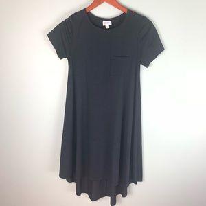 LulaRoe Black short sleeve Dress xxs